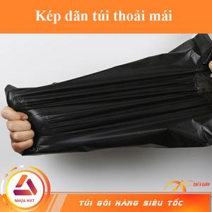 kéo dãn không rách túi đen 35*45