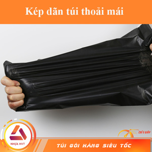 kéo dãn không rách túi đen 17*30