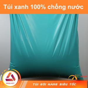 túi xanh 32x45 chống thấm nước