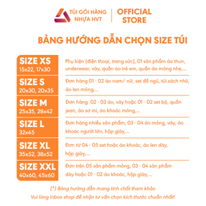 Túi gói hàng niêm phong - Xanh - Size 38*52