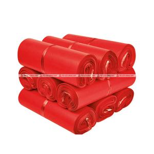 Túi đóng hàng niêm phong - Đỏ - size 25*35