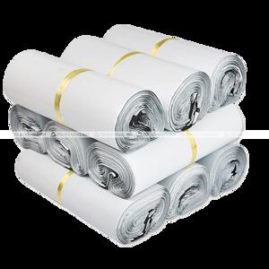 túi gói hàng chuyển phát nhanh màu trắng