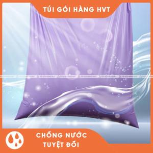 túi niêm phong đóng hàng màu xanh size 38*52